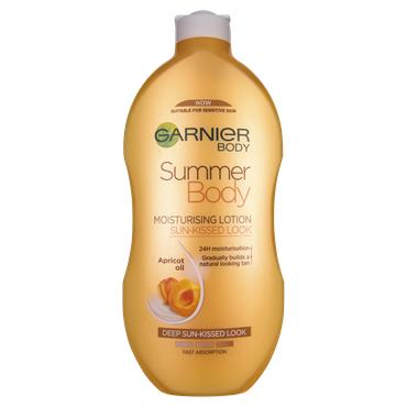 Garnier Summer Body Gradual Self-Tan Moisturiser Dark 400ml