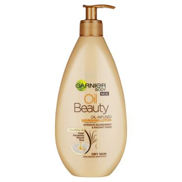Garnier Oil Beauty Nourishing Body Lotion Dry Skin 400ml