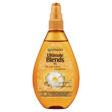 Garnier Ultimate Blends Argan Oil Shiny Hair Oil Treatment 150ml