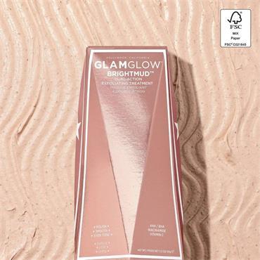 GLAMGLOW Brightmud Dual-Exfoliating Treatment Mask 50g