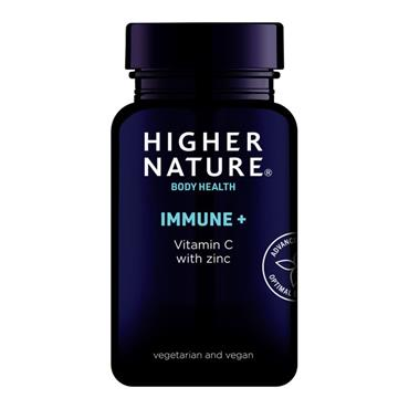 HIgher Nature Immune system support with vitamin C and zinc