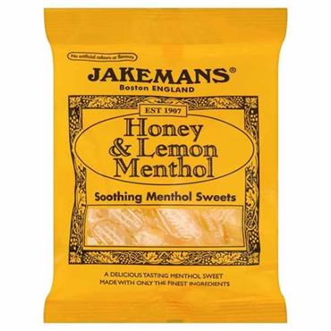Jakemans Honey & Lemon Soothing Menthol Sweets 100g