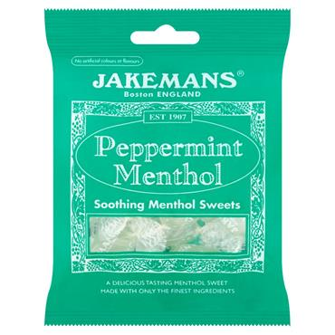 Jakemans Peppermint Soothing Menthol Sweets 100g