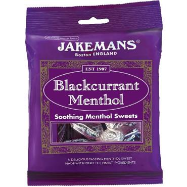 Jakemans Blackcurrant Soothing Menthol Sweets 100g