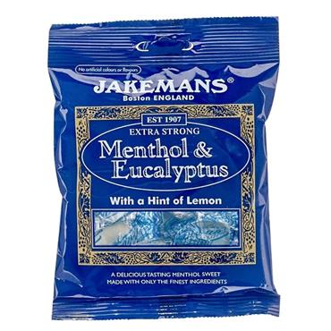 Jakemans Extra Strong Menthol & Eucalyptus Soothing Sweets 100g