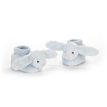 Jellycat Bashful Blue Bunny Booties