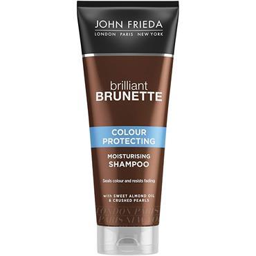 John Frieda Brilliant Brunette Colour Protecting Moisturising Shampoo 250ml