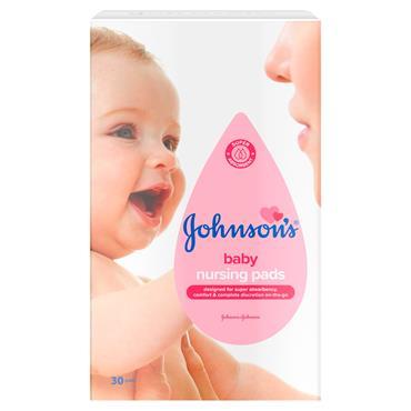 Johnsons Baby Nursing Pads 30s