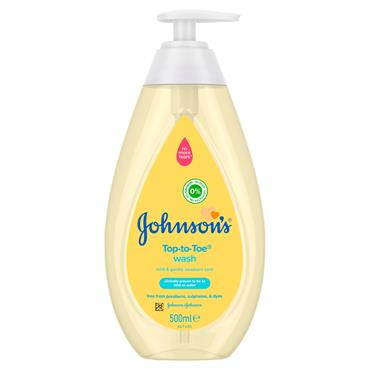 Johnsons Top-to-Toe Wash 500ml