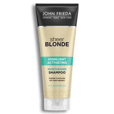 John Frieda Sheer Blonde Highlight Activiating Moisturising Shampoo 250ml