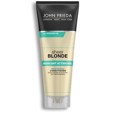 John Frieda Sheer Blonde Highlight Activating Moisturising Conditioner 250ml