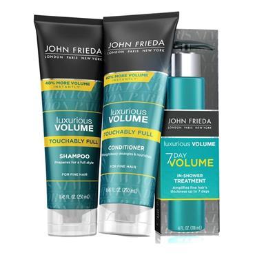 John Frieda Luxurious Volume 7 Day Touchably Full Shampoo 250ml