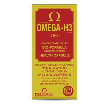 Vitabiotics Omega-H3 Original 30 Capsules