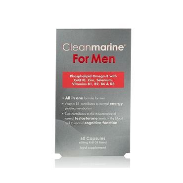 Cleanmarine For Men 60 Capsules
