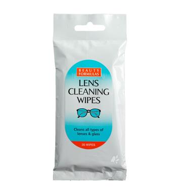Beauty Formula Lens Cleaning Wipes (24 Wipes)