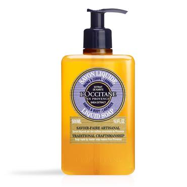 L'Occitane Shea Butter Lavender Liquid Soap 500ml