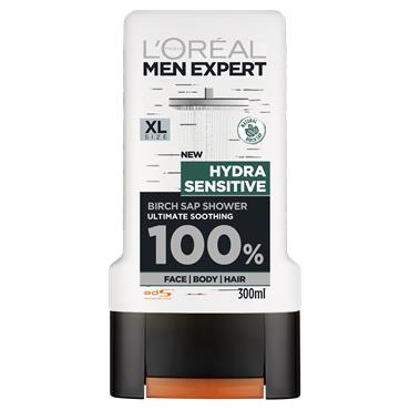 L'Oreal Paris Men Expert Hydra Sensitive Shower Gel 300ml