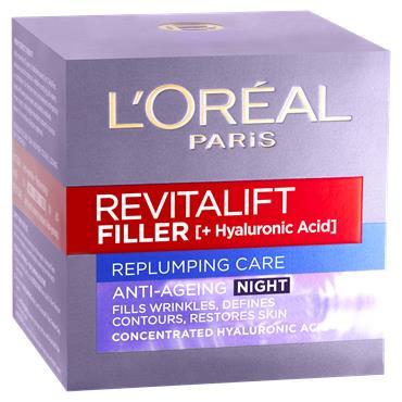L'Oreal Paris Revitalift Filler Renew Night Cream 50ml