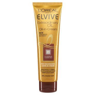 L'Oreal Paris Elvive Extraordinary Oil-in-Cream Rich Nourishing Leave in Cream 150ml
