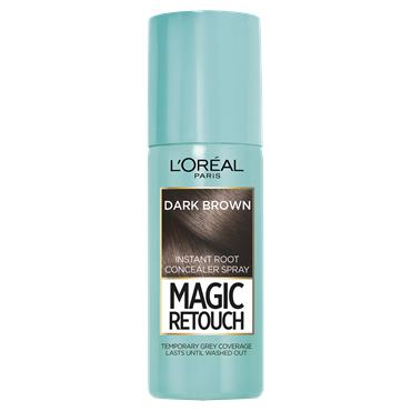 L'Oreal Paris Magic Retouch Dark Brown Temporary Instant Grey Root Concealer Spray 75ml