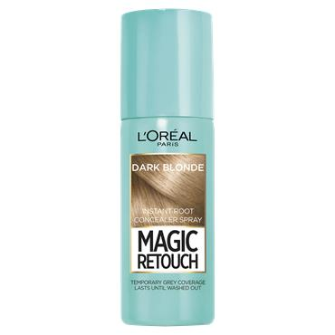 L'Oreal Paris Magic Retouch Dark Blonde Temporary Instant Grey Root Concealer Spray 75ml