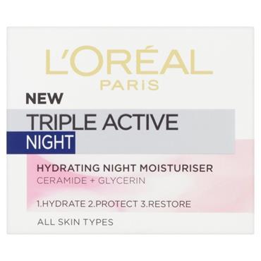 L'Oreal Paris Triple Active Night Cream 50ml