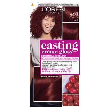 L'Oreal Paris Casting Creme Gloss 460 Cherry Red Semi Permanent Hair Dye