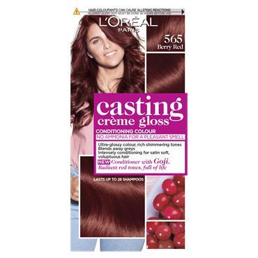 L'Oreal Paris Casting Creme Gloss 565 Berry Red Semi Permanent Hair Dye