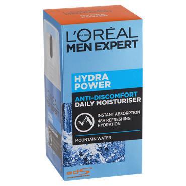 L'Oreal Paris Men Expert Hydra Power Anti-Discomfort Daily Moisturiser 50ml
