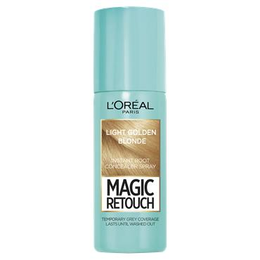 L'Oreal Paris Magic Retouch Light Golden Blonde Temporary Instant Grey Root Concealer Spray 75ml