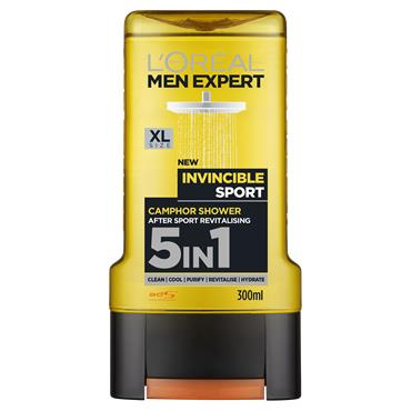 L'Oreal Paris Men Expert Invincible Sport Shower Gel 300ml