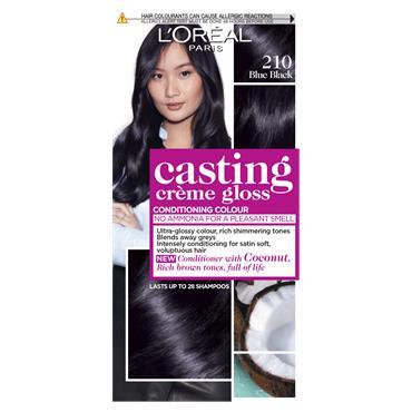 L'Oreal Paris Casting Creme Gloss 210 Blue Black Semi Permanent Hair Dye