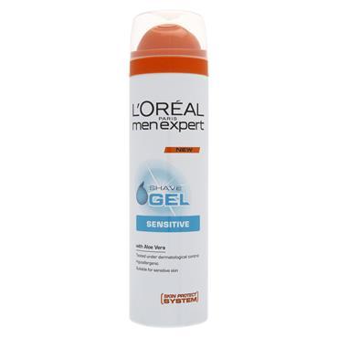 L'Oreal Paris Men Expert Sensitive Shave Gel 200ml