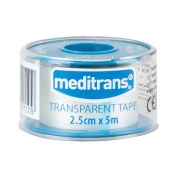 Medicare Meditrans Transparent Tape 2.5Cm X 5M