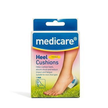 Medicare Female Heel Cushion 2 Pack