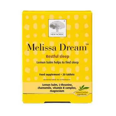 New Nordic Melissa Dream 20 Tablets