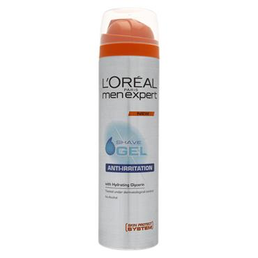 L'Oreal Paris Men Expert Anti-Irritation Shave Gel 200ml