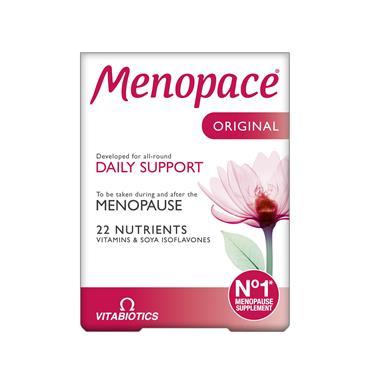 Vitabiotics Menopace Original 30 Capsules