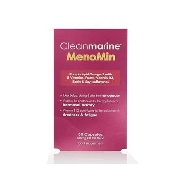 Cleanmarine MenoMin 60 Capsules