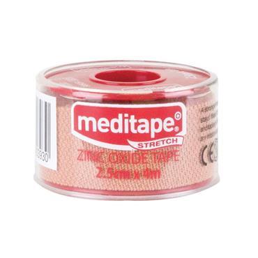 Medicare Meditape Zinc Oxide Stretch Tape 2.5Cm X 4M