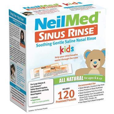 NeilMed Sinus Rinse Kids Premixed 120 Sachets
