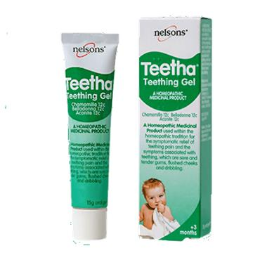Nelsons Teetha Teething Gel 15g