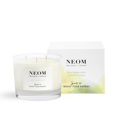 Neom Organics Feel Refreshed Scented Candle 3 Wick