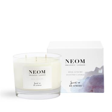 Neom Organics Real Luxury Scented Candle 3 Wick