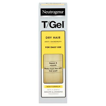 Neutrogena T-Gel Shampoo Dry Hair 125ml