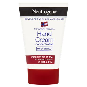 Neutrogena Norwegian Formula Hand Cream Concentrated Unscented 50Ml