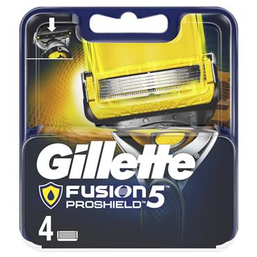 Gillette Blades Fusion5 Proshield Razor Blades (4 Pack)