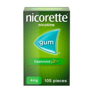Nicorette Freshmint Gum 4Mg 105S