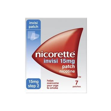 Nicorette Invisi Patch 15Mg 7s