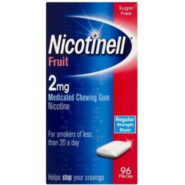 Nicotinell Nicotine Gum Fruit 2mg 96s